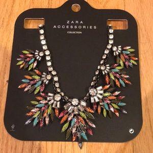 Statement Zara necklace